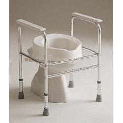 Cadre de toilette aluminium...