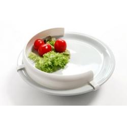 Rebord d'assiette PP Blanc